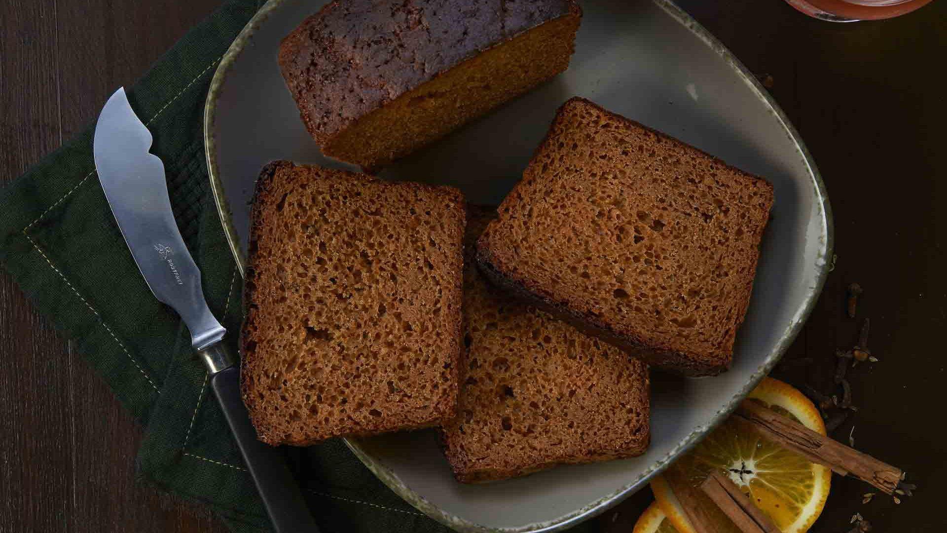 Pâine cu condimente, miere și scorțișoară