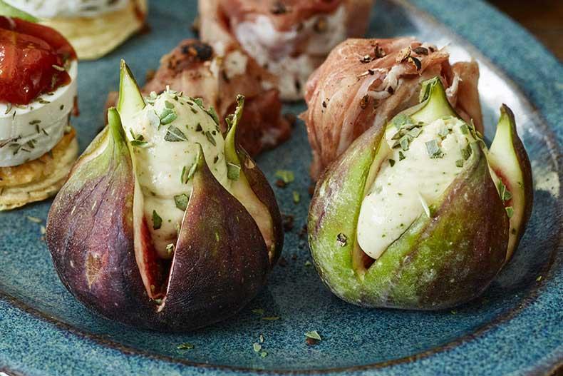 Smochine umplute cu cremă de gorgonzola