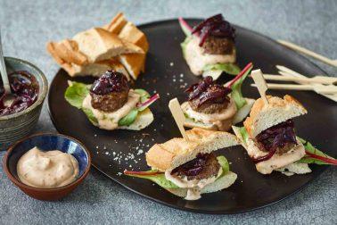 Mini-burgeri de vită