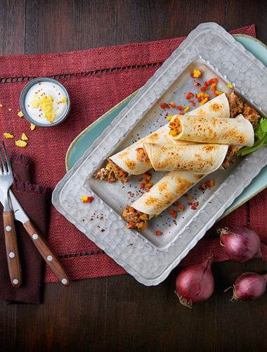 Tortilla Cochinita Pibil